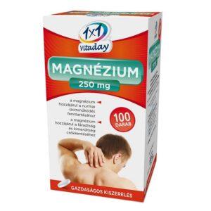 1×1 Vitamin Magnézium 250mg filmtabletta – 100db
