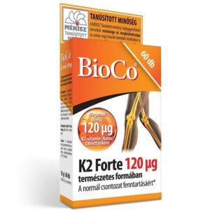 BioCo K2 forte vitamin tabletta - 60db