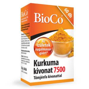 BioCo Kurkuma kivonat 7500mg Tömjénfa kivonattal tabletta - 60db