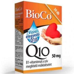 BioCo Q10 Vízzel elegyedő 50mg kapszula - 30db