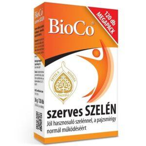 BioCo Szerves szelén megapack - 120db