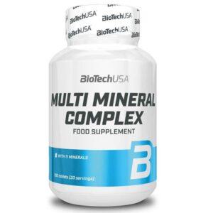 BioTech USA Multi Mineral komplex tabletta - 100 db