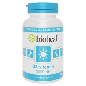 Bioheal D3-vitamin 3000NE kapszula - 70db