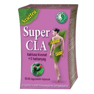 Dr. Chen Szűztea Super CLA kapszula - 60db