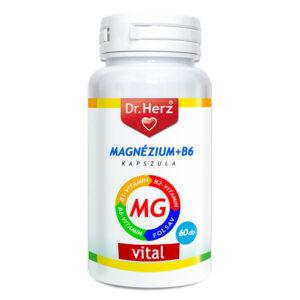 Dr. Herz Magnézium + B-komplex - 60db