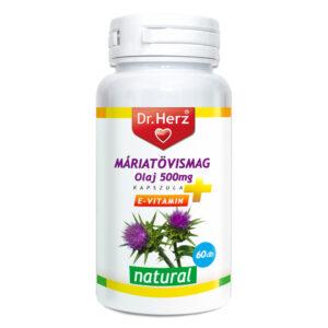 Dr. Herz Máriatövismag olaj kapszula - 60db