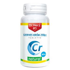 Dr. Herz Szerves Króm 200mcg kapszula - 60db