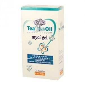 Dr. Müller Tea Tree Oil teafa intim tisztálkodó gél – 200 ml