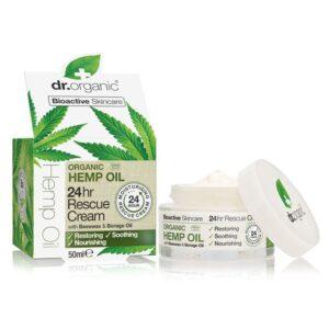 Dr. Organic kendermagolaj 24 órás elsősegély krém – 50 ml