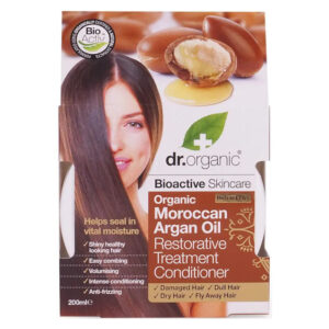 Dr. Organic bio Argán olaj regeneráló hajpakolás - 200 ml