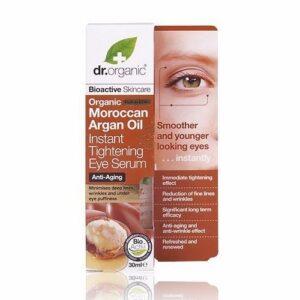 Dr. Organic bio Argán olaj szemkörnyék feszesítő szérum - 30ml