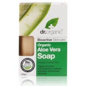 Dr. Organic bio aloe vera szappan – 100g