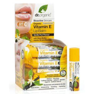 Dr. Organic bio e-vitaminos ajakbalzsam – 5.7 ml