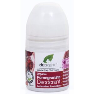 Dr. Organic bio gránátalma golyós dezodor - 50ml