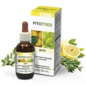 Erba Vita FitoTree grapefruit és teafa alapú fertőtlenítő olaj - 30ml