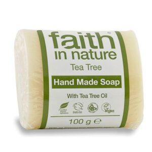 Faith in Nature Bio teafa szappan – 100g