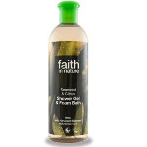 Faith in Nature Bio tengeri hínár tusfürdő – 400 ml
