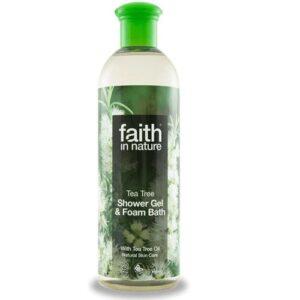 Faith in Nature teafa tusfürdő – 400 ml