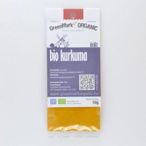 GreenMark bio őrölt kurkuma fűszer – 10g