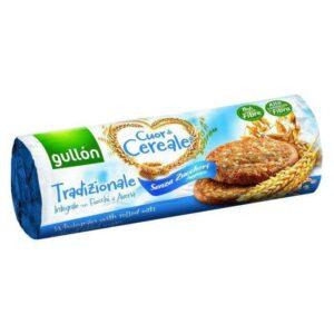 Gullón élelmi rostban gazdag cukormentes keksz (kék) – 280g
