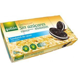 Gullón Cukormentes kakaós Oreo keksz, krém töltelékkel – 210g