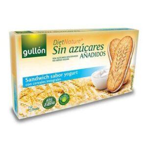 Gullón diabetikus szendvicskeksz joghurtos – 220g