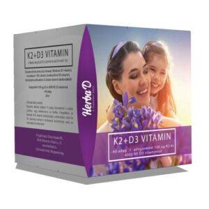 Herba-D K2+D3-vitamin csepp – 60 napi adag – 20ml
