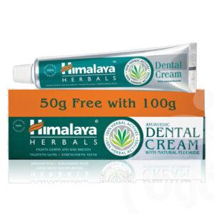 Himalaya Herbals ajurvédikus fogkrém természetes fluoriddal - 150g