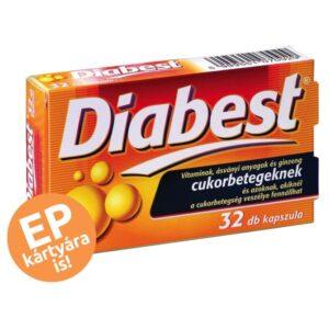 InnoPharm Diabest kapszula – 32db