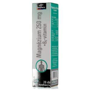 InnoPharm Magnézium B6-vitamin pezsgőtabletta – 20db