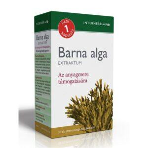 Interherb Napi 1 Barna alga Extraktum kapszula – 30db