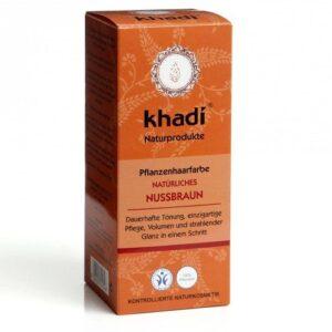 Khadi Hajfesték por – Mogyoróbarna – 100 g