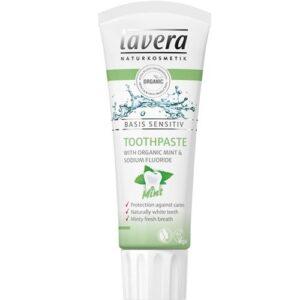 Lavera BASIS mentolos fogkrém – 75 ml