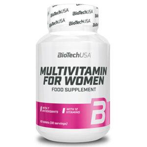 BioTech USA Multivitamin for Women tabletta - 60db