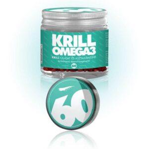 NKO Krill Omega3 kapszula – 100% tisztaságú rákolaj – 60db