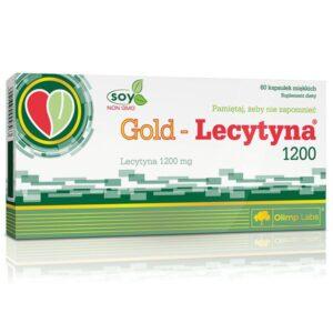 Olimp Labs Gold Lecytyna folyékony szója-lecitin kapszula – 60db