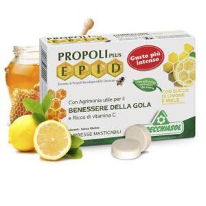 Specchiasol EPID Propolisz szopogatós tabletta mézes-citromos ízű tabletta - 20 db