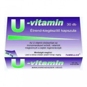 Tawellco U-vitamin 300mg kapszula – 30db