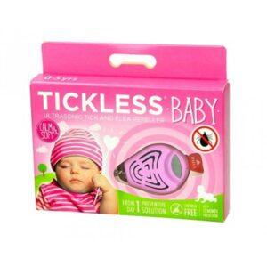 Tickless ultrahangos kullancsriasztó baba