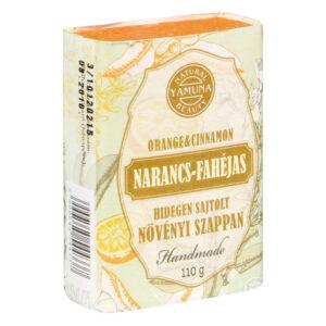 Yamuna Hidegen sajtolt Narancs/Fahéjas szappan - 110g