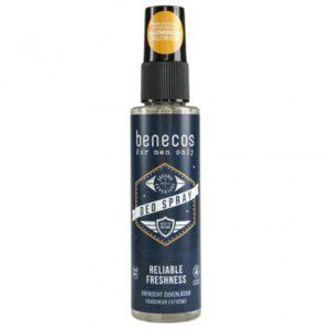 Benecos Férfi spray dezodor – 75ml