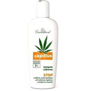Cannaderm Capillus sampon seborrheás fejbőrre – 150ml