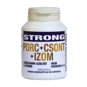 Strong Porc+Csont+Izom kapszula - 60db