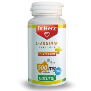 Dr. Herz L-Arginin + C-vitamin 500mg kapszula – 50db