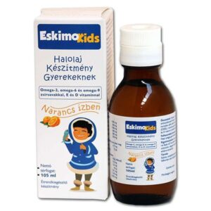 Eskimo Kids halolaj narancsos – 105ml