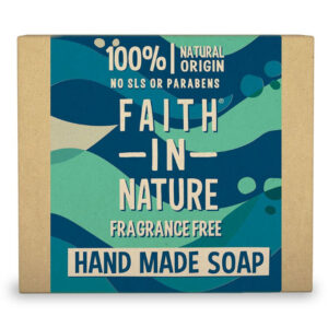 Faith in Nature Bio illatmentes szappan - 100g