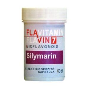 Flavin7 Flavitamin Sylimarin kapszula – 60 db