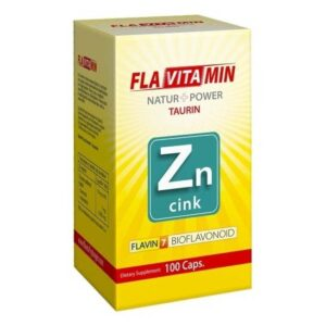 Flavitamin Nature+Power Cink kapszula – 100 db