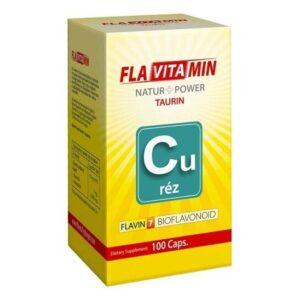 Flavitamin Nature+Power Réz kapszula – 100 db