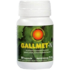 Gallmet-N kapszula – 30 db